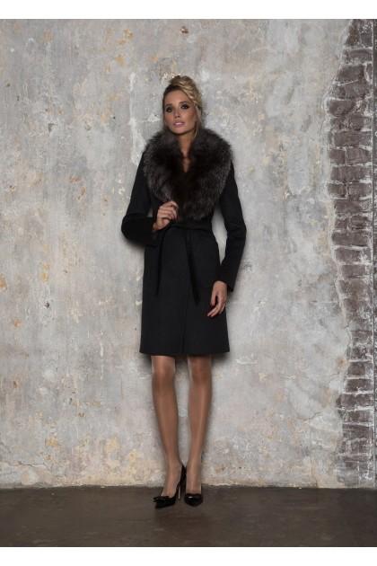 Зимнее женское пальто с мехом Dekka арт. 760