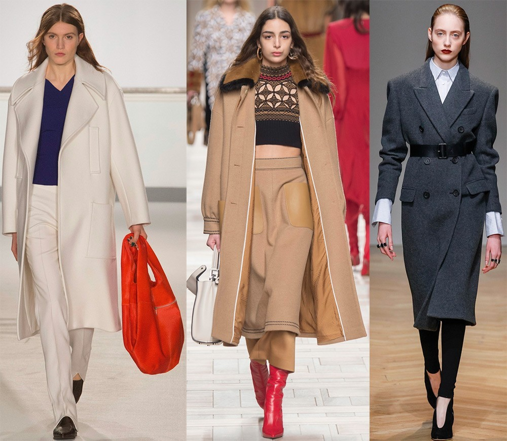 Модные женские пальто на весну 2018