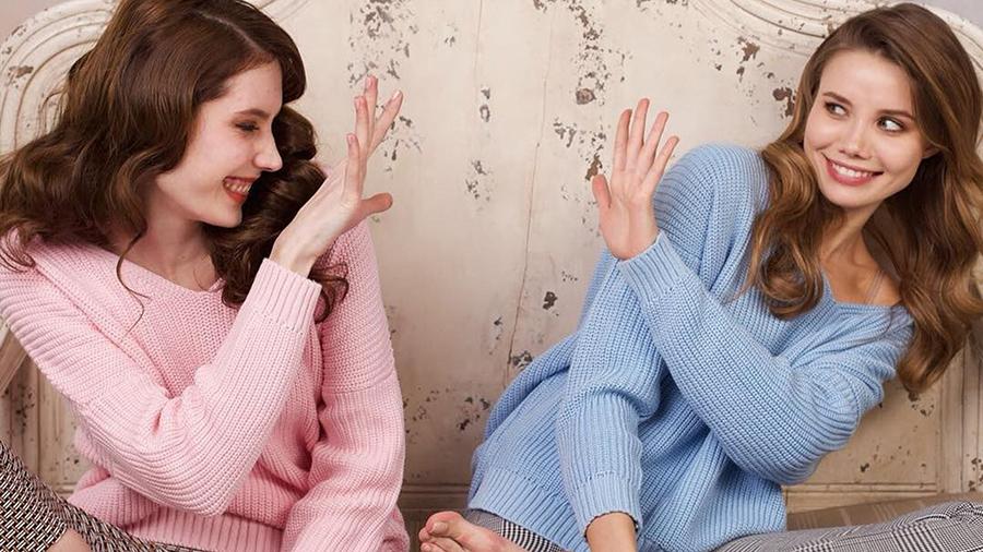 Свитер Oversize для современных модниц